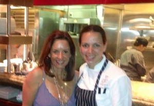 April and Christine Wilson Gordon Ramsay Steak