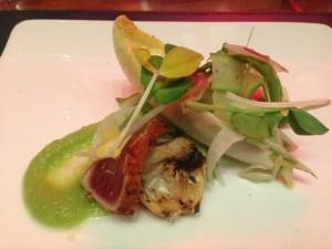 Gordon Ramsay spring salad