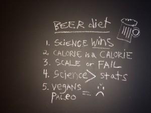 beer sausage diet