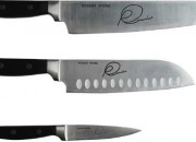 Robert Irvine's knife set is a great set for beginners