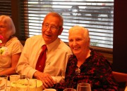My parents enjoying the celebration of their 65th anniversary.