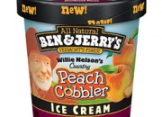 Today's Peach Ice Cream is better than Mary's