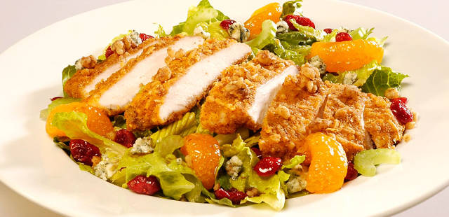 At 1080 calories, this one salad seems healthy - but is over half the calories that an adult male burns in a day.