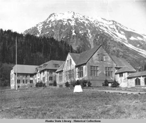 The Jesse Lee Home in Seward, Alaska - worried about Japanese invasion the home was camouflaged