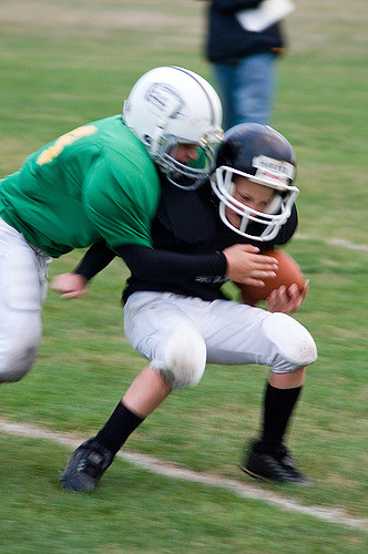 kids tackle football
