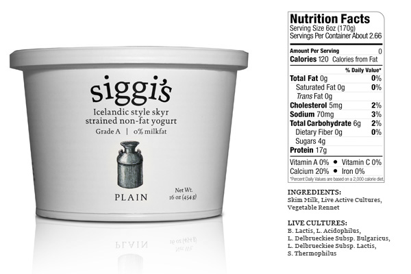 Siggi's plain yogurt has no added sugar.  You can purchase this at Safeway or AJ's